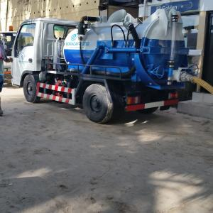 compact sewer suction truck