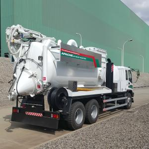 wet and dry industrial vacuum truck